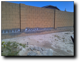 Concrete Block Wall Repair Phoenix